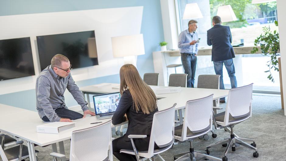 Haworth unterhält in Berlin einen eigenen Coworking-Space namens OffX.