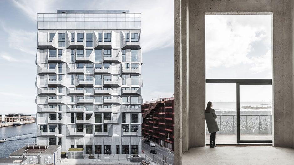 Toller An- und Ausblick: The Silo im Kopenhagener Nordhafen.