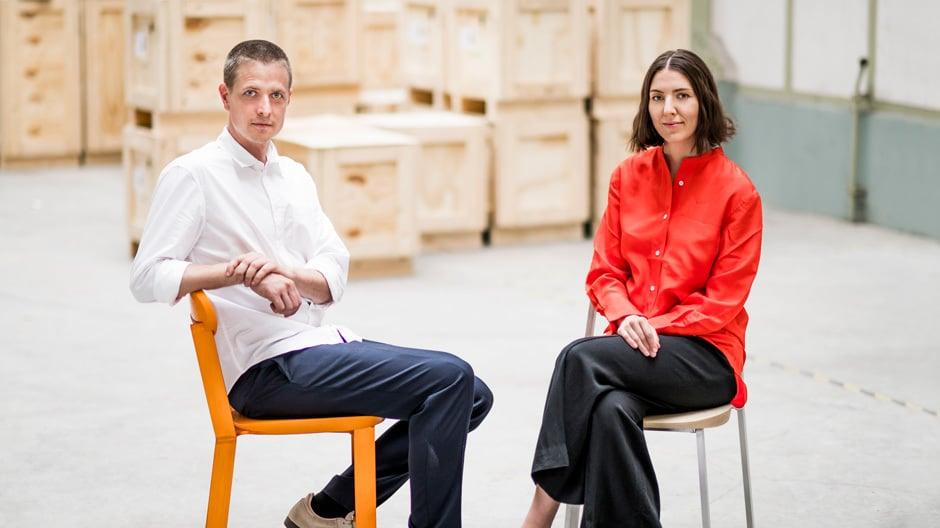 Joel und Kate Booy vom Studio Truly Truly. Foto: © imm cologne