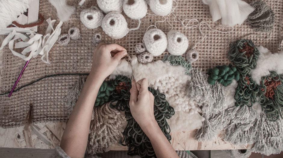 Domotex Framing Trends 2019 – mit der Textilkünstlerin Vanessa Barragão.