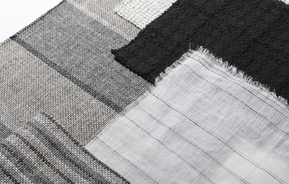TREND #2: SCHWARZ-WEISS-KONTRASTESchwarz-weiße Kombinationen erleben ein Revival im Interiordesign. Kein Wunder, denn sie sind echte Allrounder: Sie können einen Raum mit Kontrastflächen strukturieren oder mit einer einheitlichen Farbgebung zusammenhalten. Schwarz setzt im monochrom weißen Interior Akzente: mit architektonischen Elementen oder mit textilen Stücken wie Vorhangstoffe, Teppiche, Tapeten und Accessoires.Im Bild: Moodboard von Dominique Kieffer by Rubelli. Foto/ Copyright: Rubelli