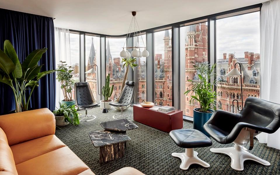 Suite auf der neunten Etage.