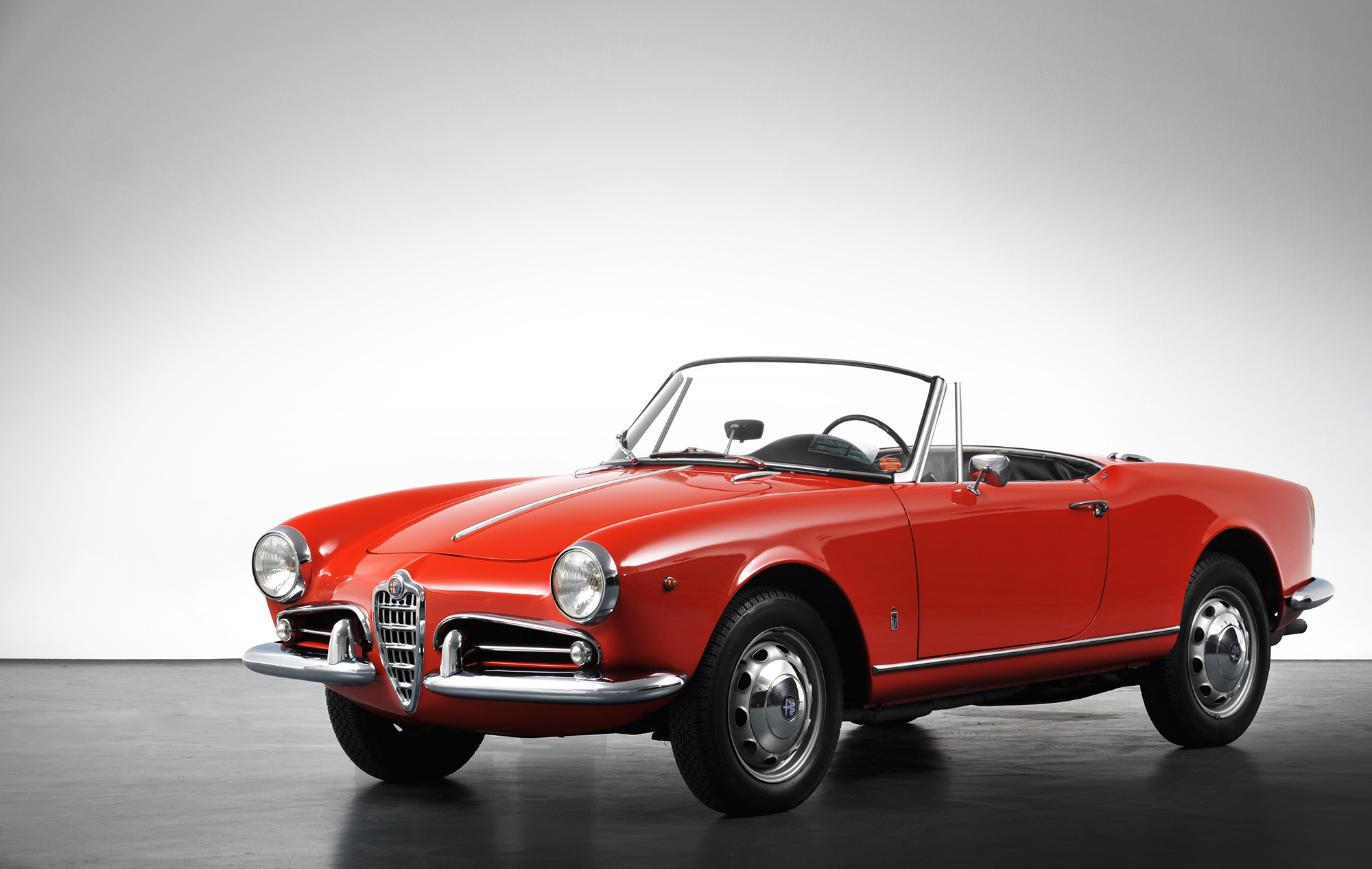 Alfa Romeo Giulietta Spider 2, 1961. Foto: Pininfarina