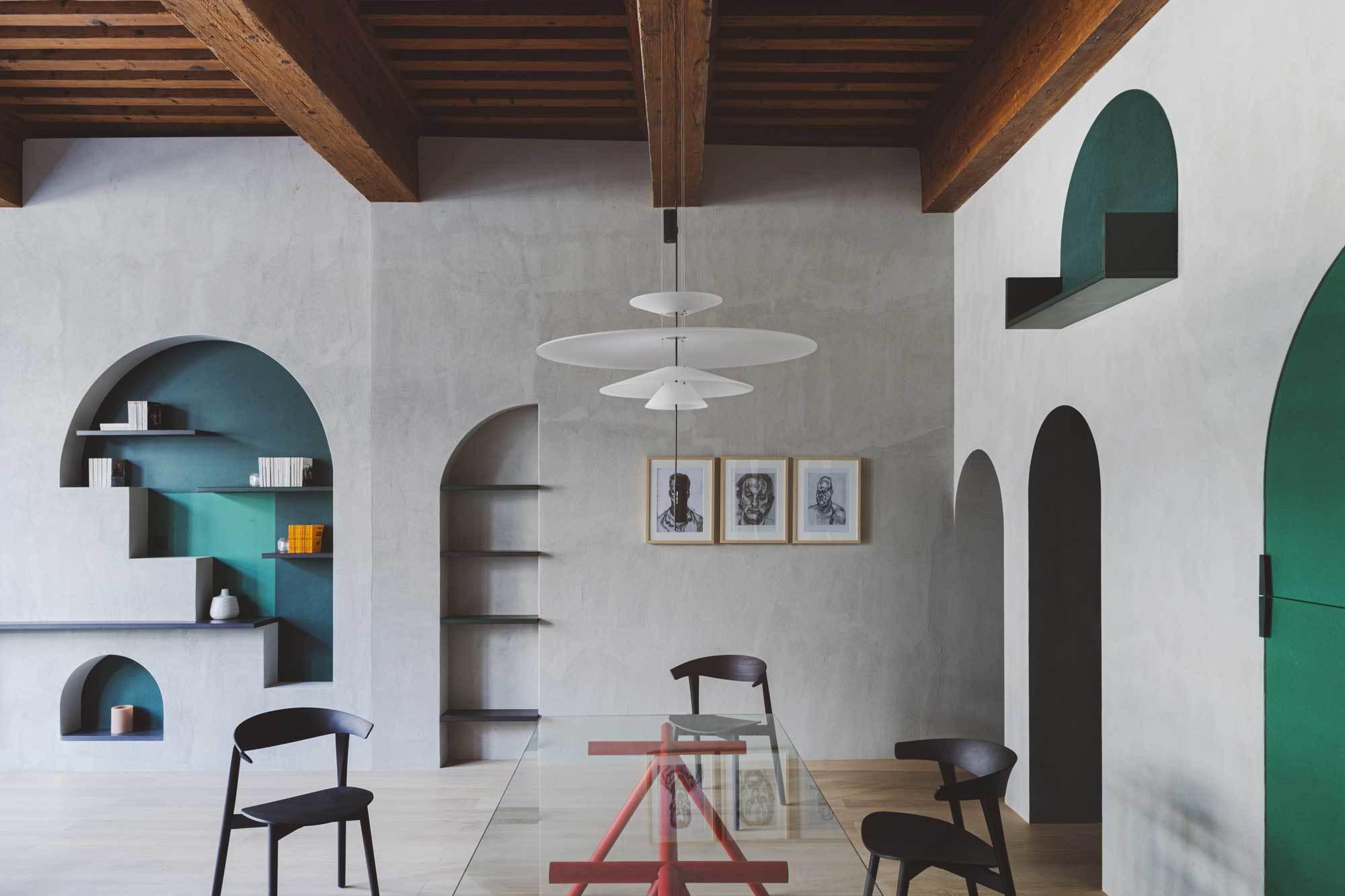 "Studio Razavi Architecture, Lyon, ""Asketische Opulenz"", Foto: Simone Bossi"