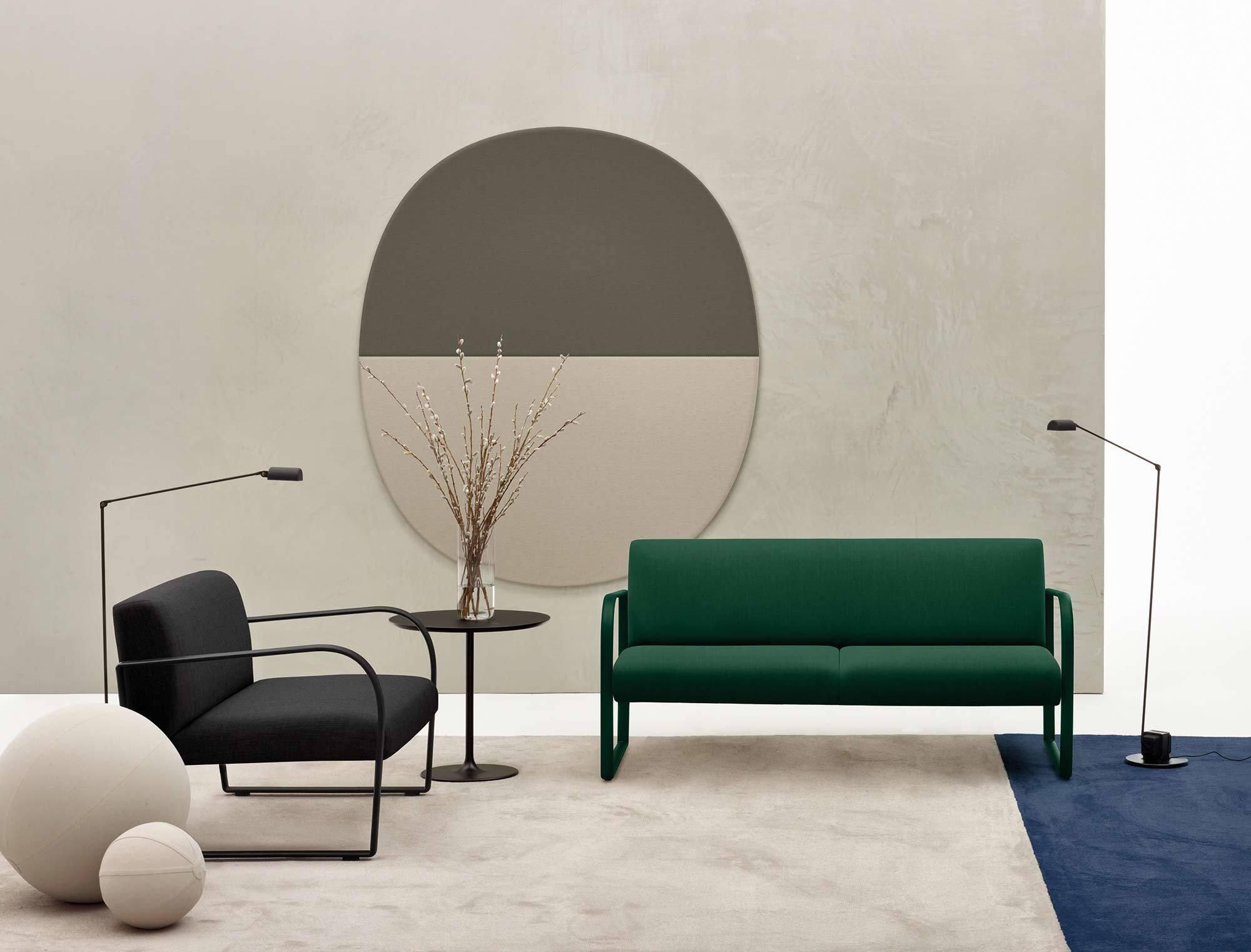 Arcos für Arper, Design: Lievore Altherr Molina, 2017, Foto: Marco Covi