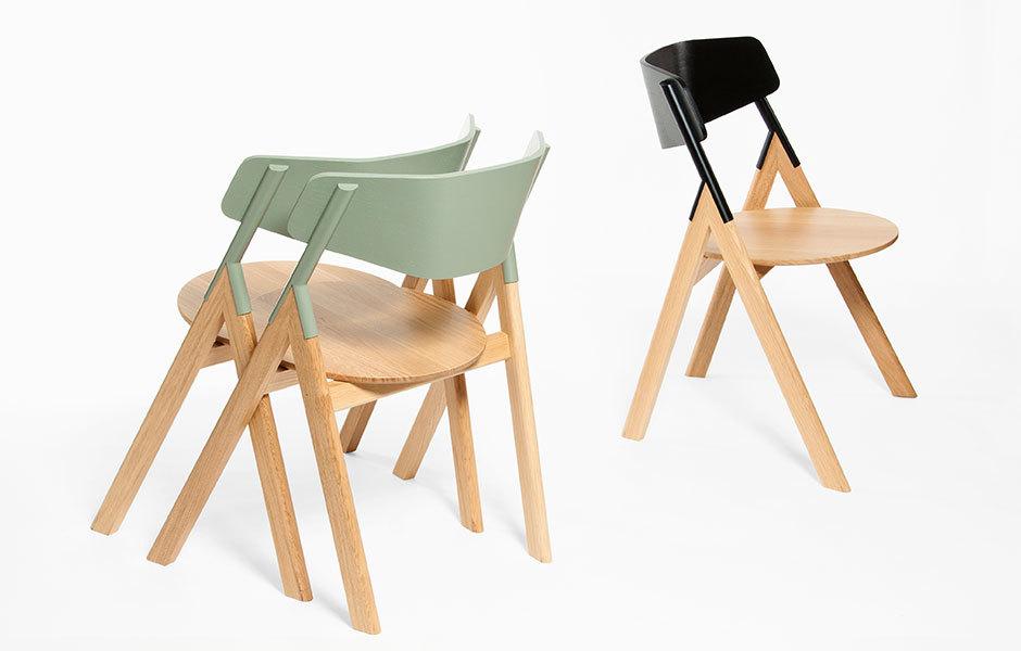Stuhl Hubi. Foto: Atelier I+N / Atelier Peekaboo