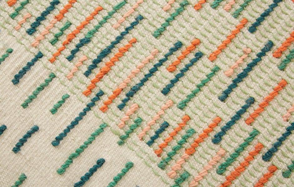 Teppichkollektion Backstitch für GAN