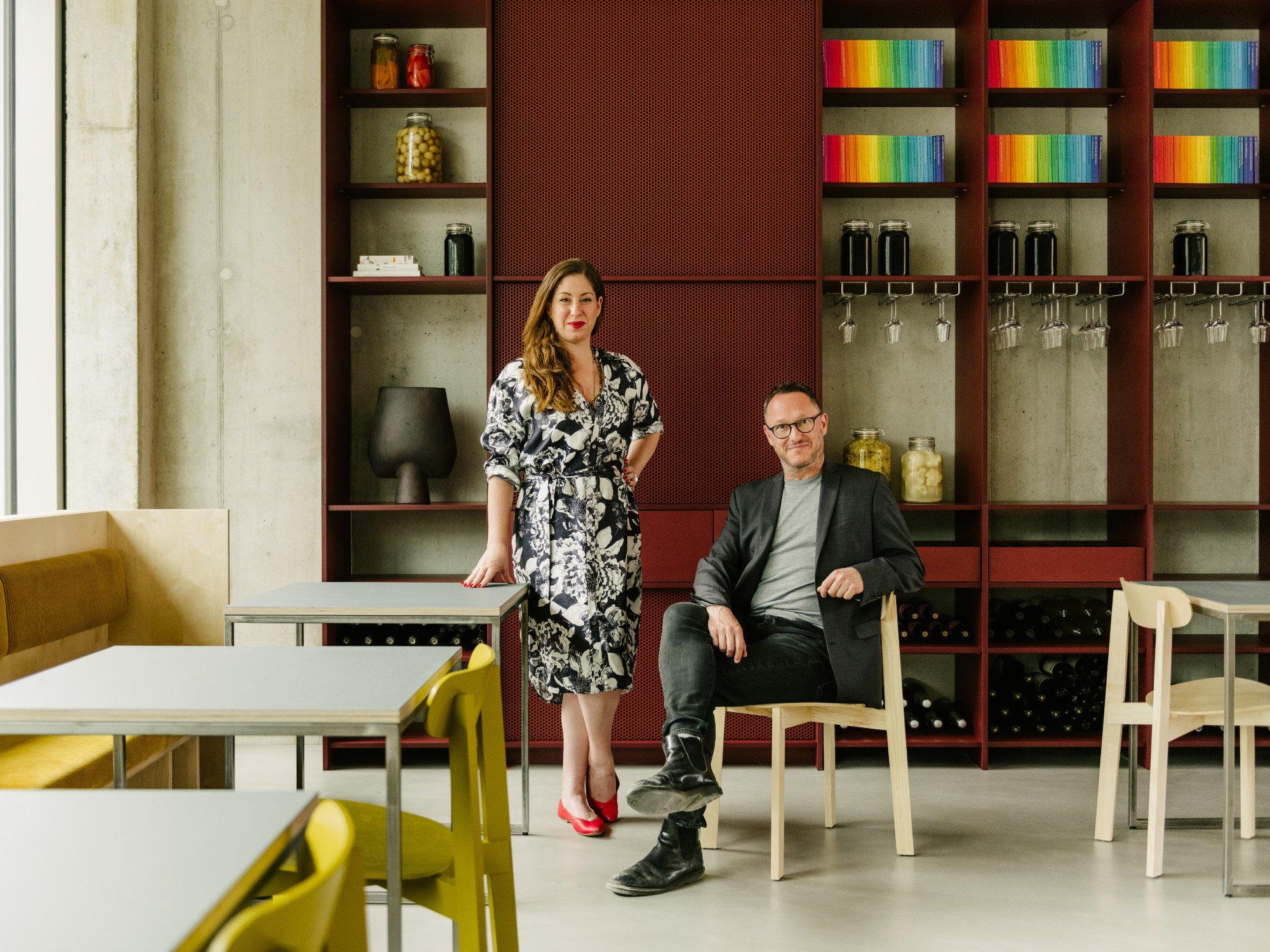 Ester Bruzkus und Peter Greenberg (Ester Bruzkus Architekten), Foto: Robert Rieger