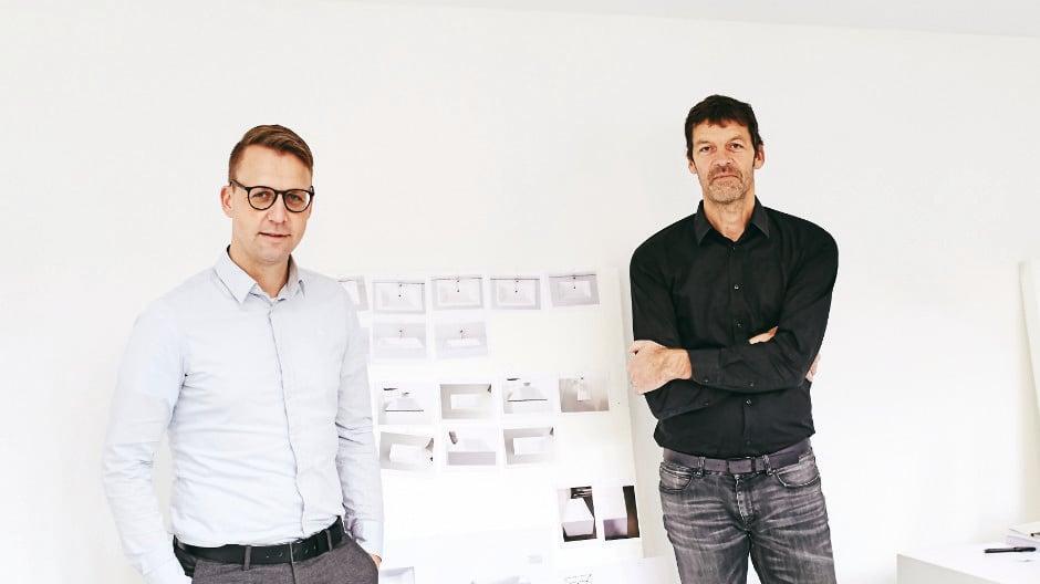 Sven Rensinghoff (li.) und Dominik Tesseraux