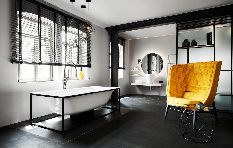 Ein Zimmer wurde zusätzlich zur bodenebenen Dusche noch mit einer exklusiven Badewanne von Bette ausgestattet.