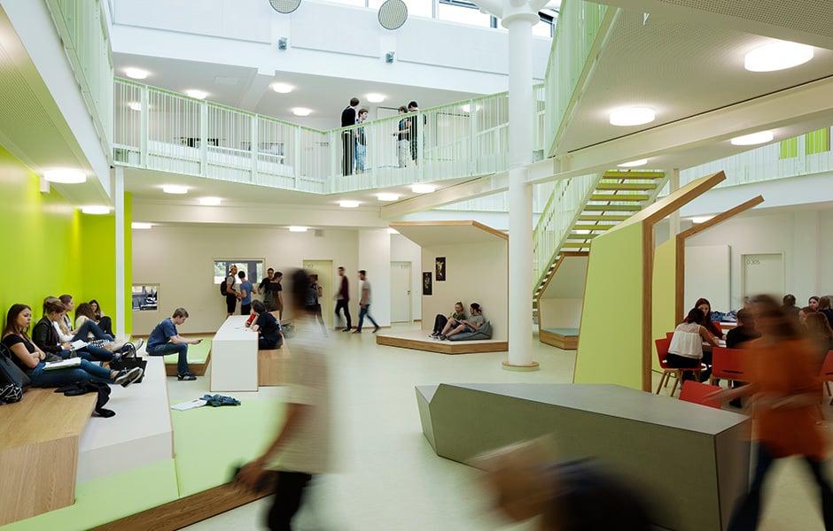 Heinrich Nordhoff Gesamtschule, Wolfsburg, Foto: © Jan Bitter