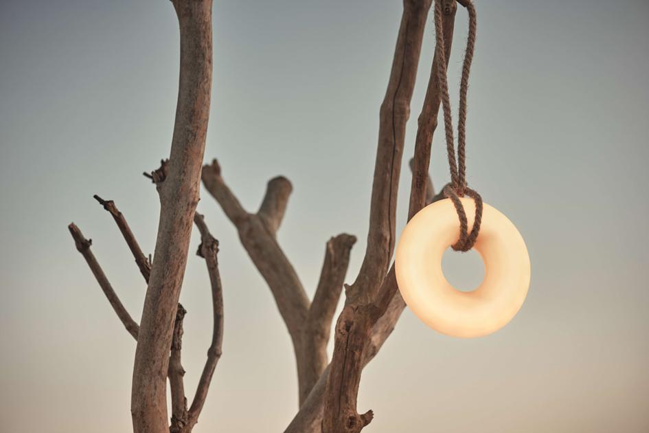 Bewegliches Licht:Donut Lampvon Michael H. Nielsen für Bolia. Foto: Bolia