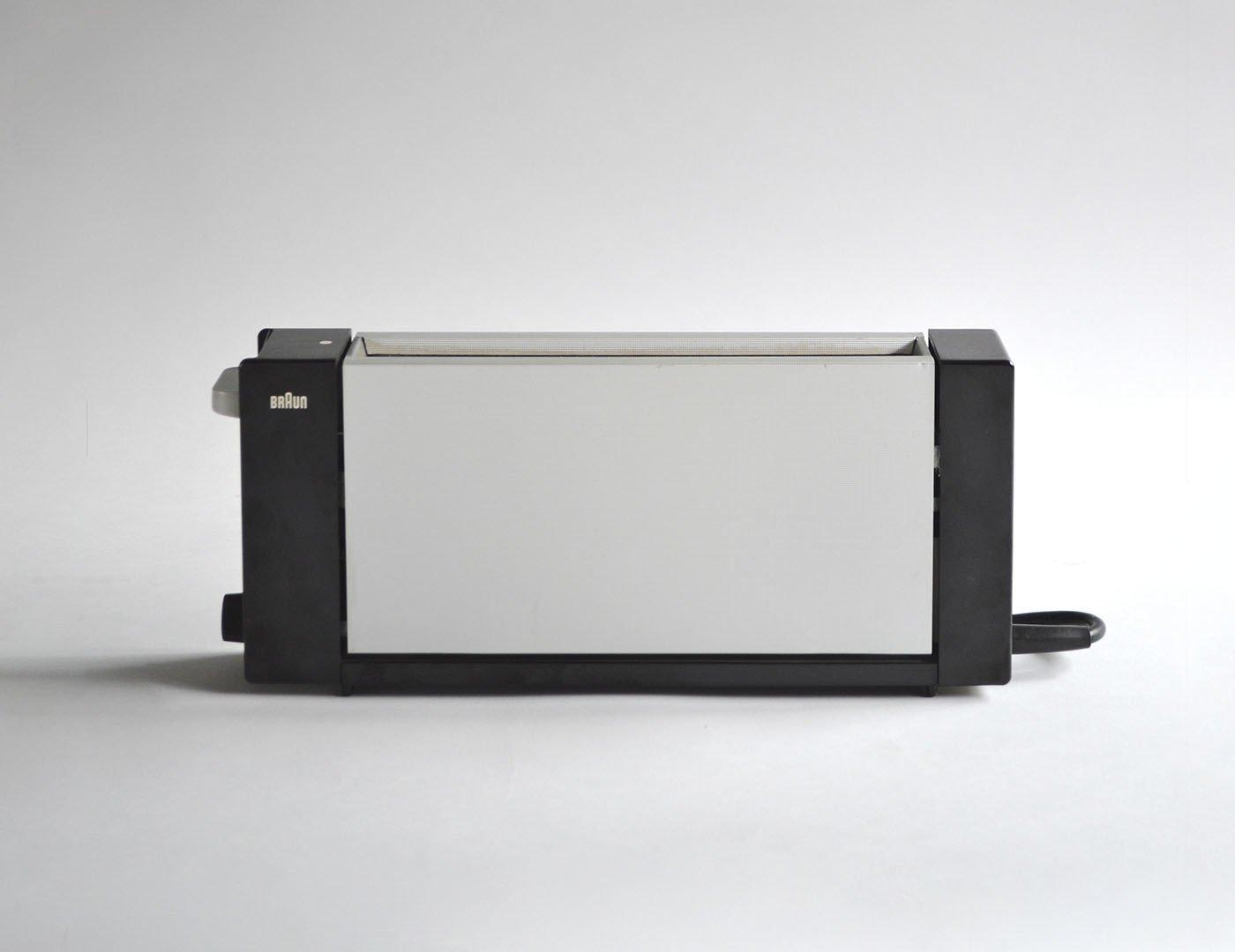 Vorlage 2 für glänzendes Metall: Toaster HT2 (1963) von Dieter Rams für Braun. Foto: Braun