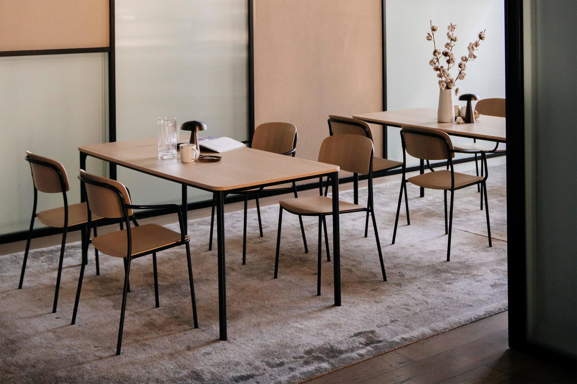 Kollektion nate s von Atelier Steffen Kehrle für den Möbelhersteller Brunner.