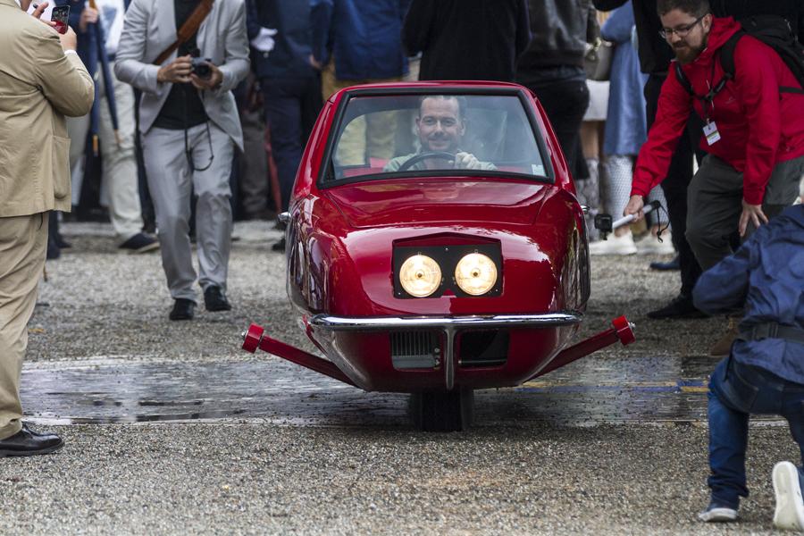 Gyro-X aus dem Jahr 1967.Foto:Gudrun Muschalla/ BMW Group Classic