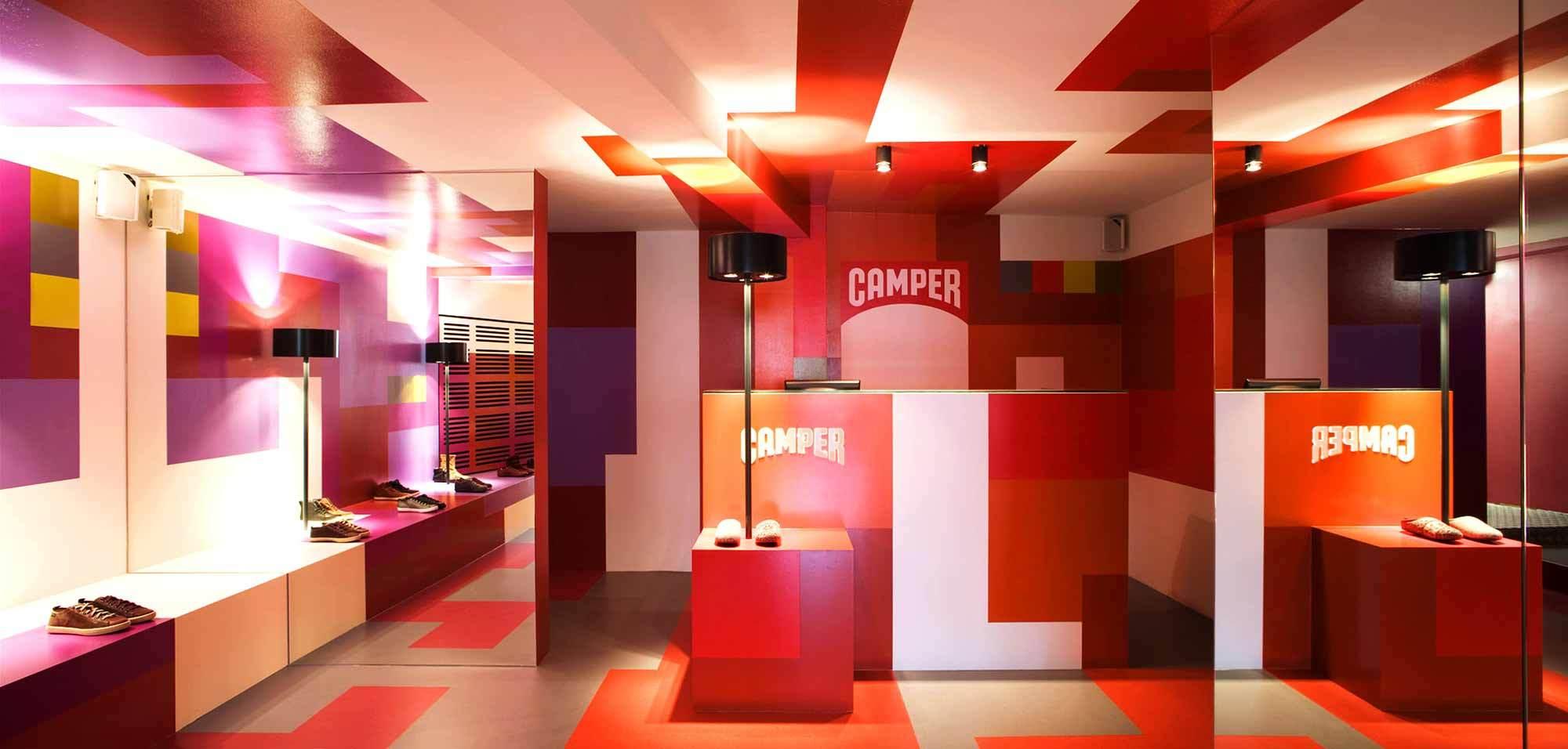 Camper Shop, Zürich, 2012