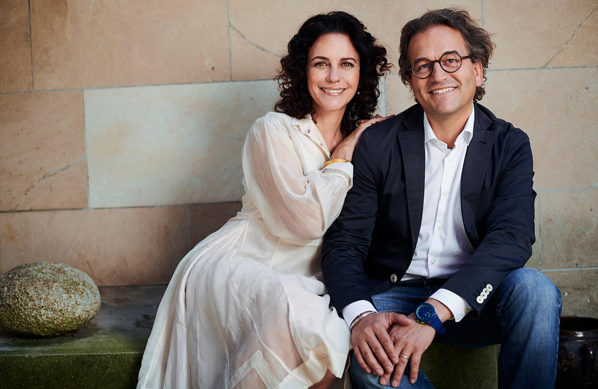 Camilla Fischbacher, Creative Director und Michael Fischbacher, CEO