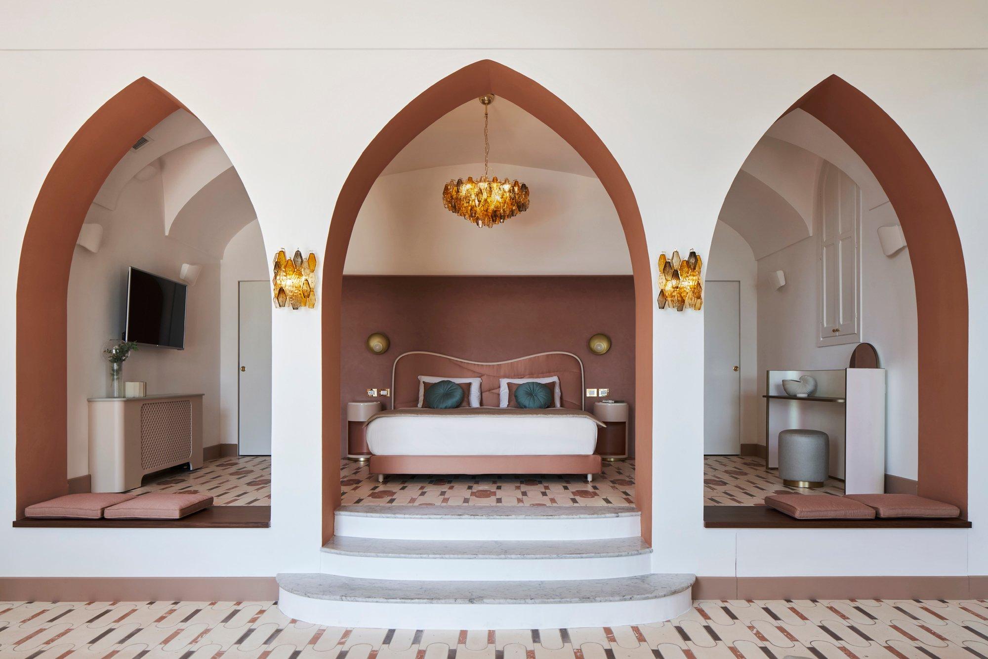 Belvedere Suite im Hotel Palazzo Avino in Ravello an der Amalfiküste. Foto: Davide Lovatti