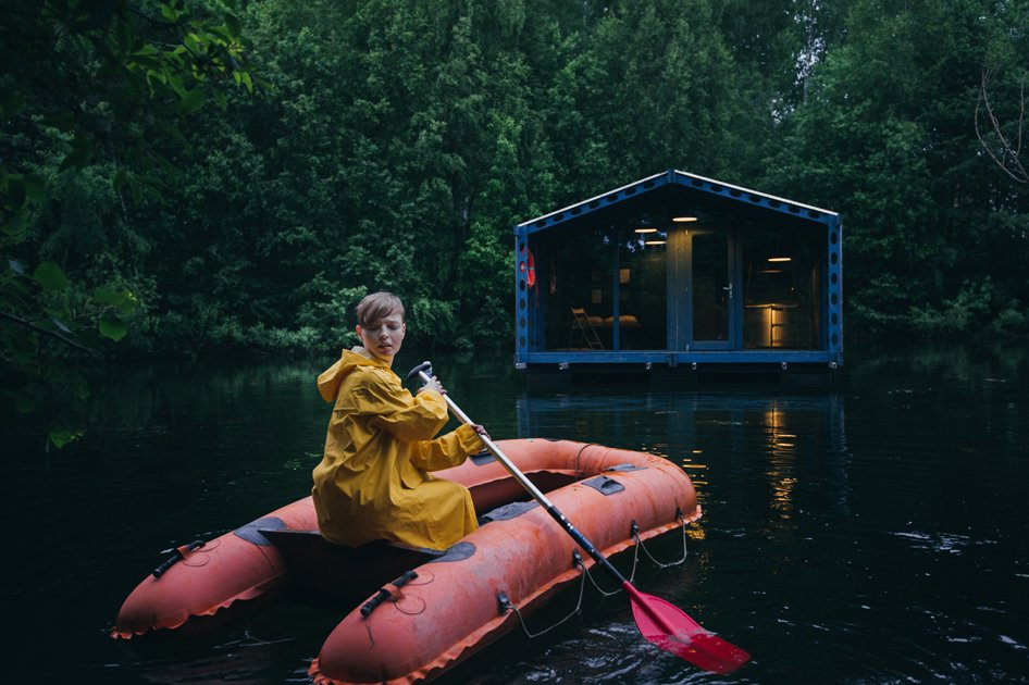 DD16 Floating Cabinvon Bio Architects in Moskau, Russland. Foto:Vlad Mitichev