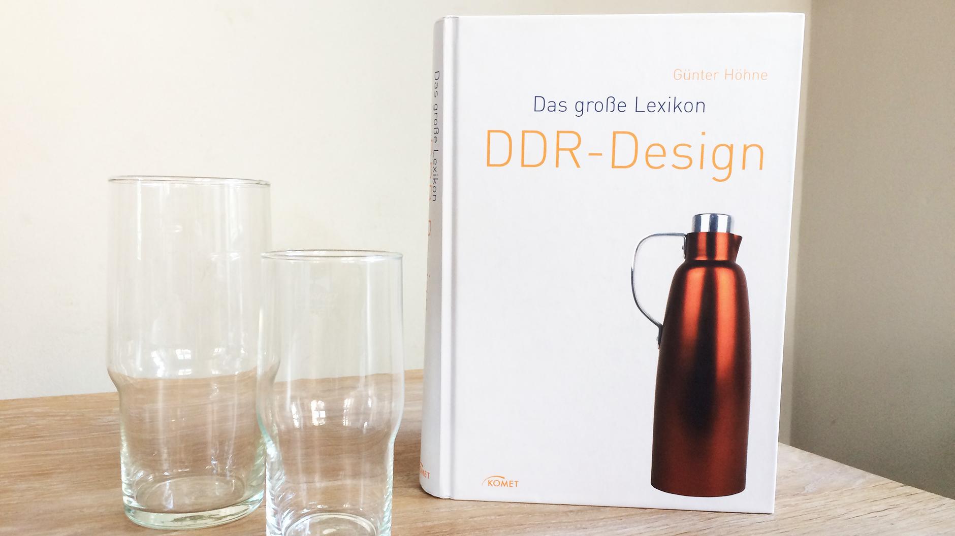 DDR-Design von Günter Höhne und die Superfest Gläser, Barbara Hallmann