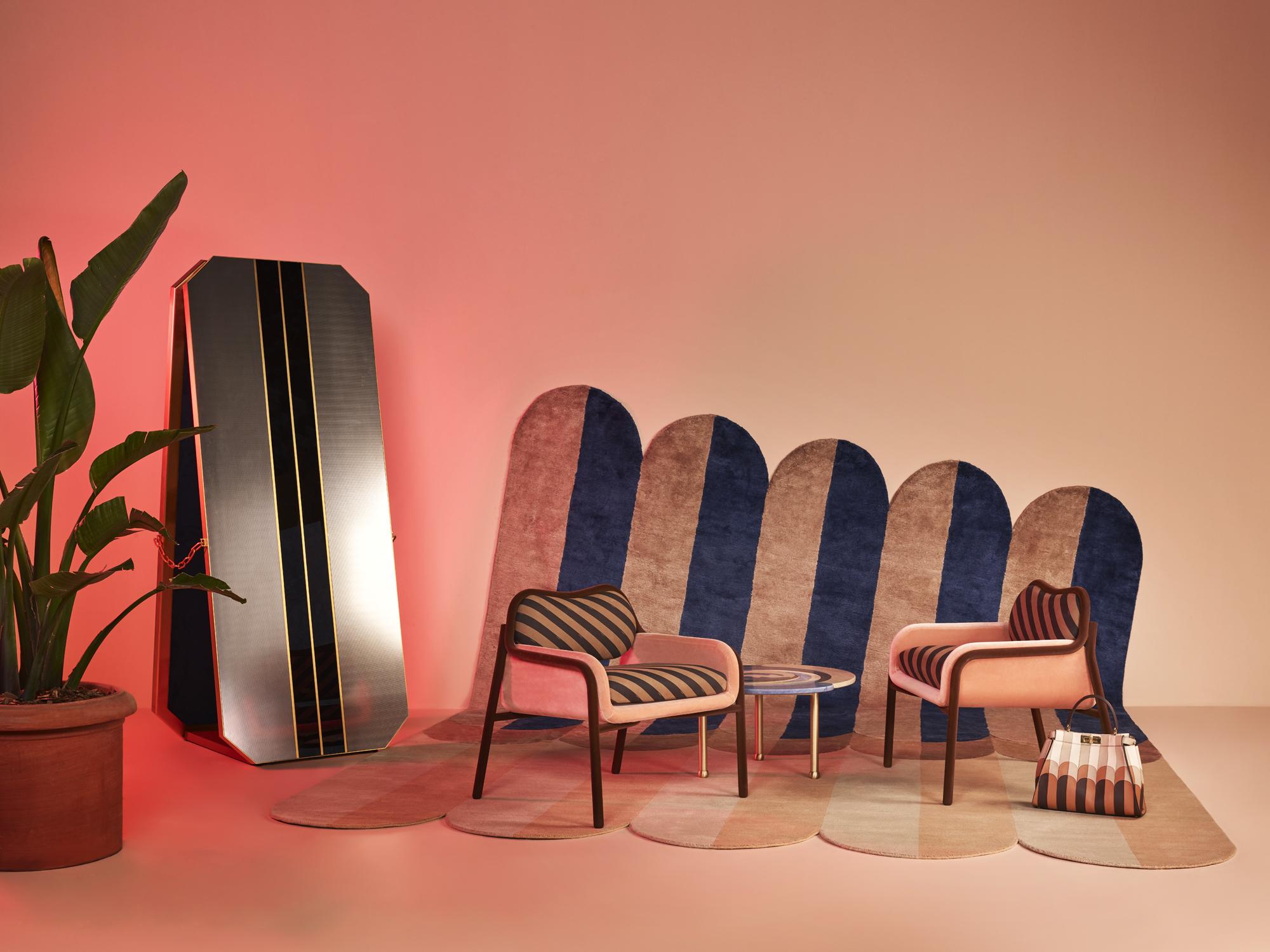 KollektionDressing Roomfür Fendi Casa. Foto:Omar Sartor