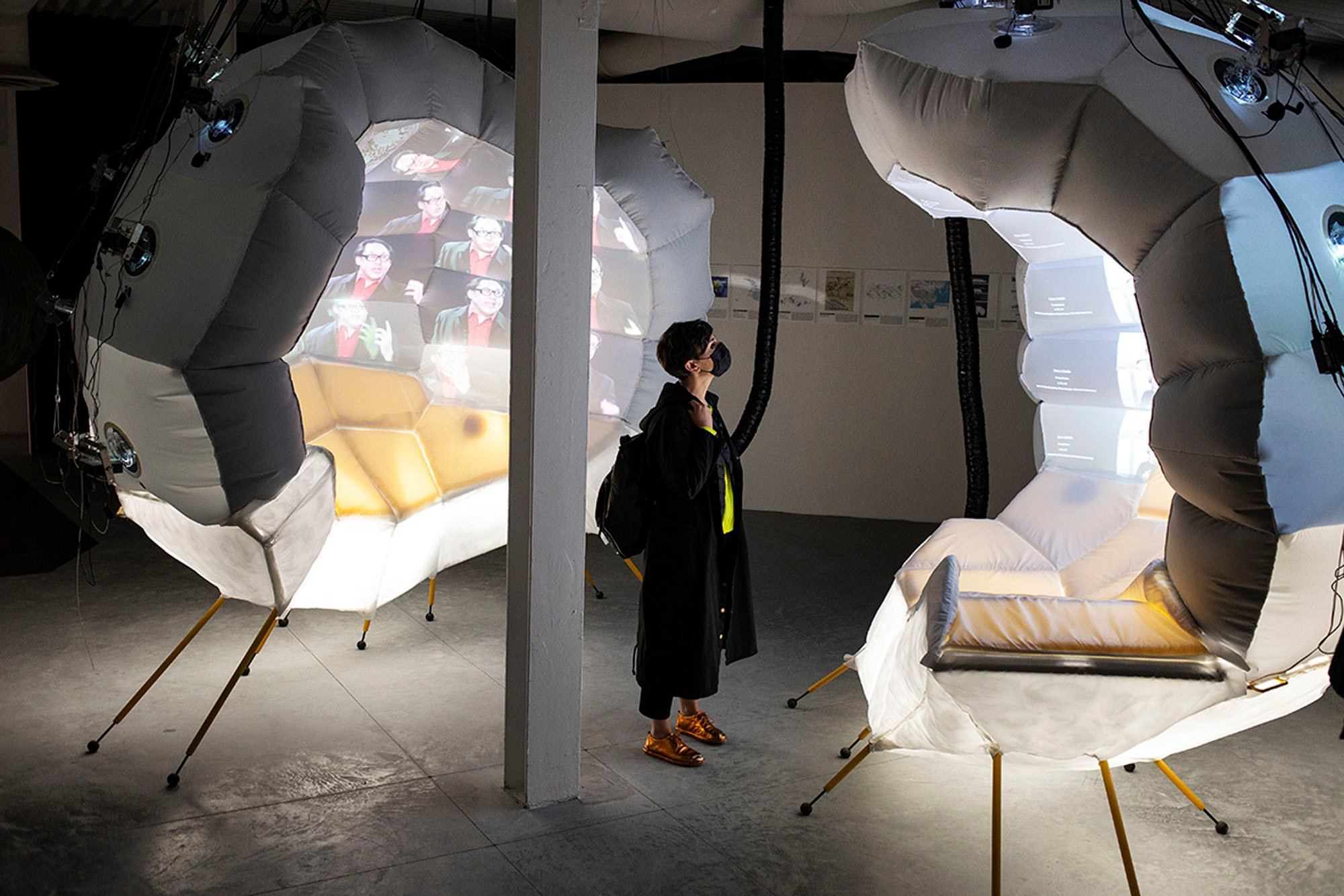 Daniel López-Pérez; Reiser + Umemoto; Princeton University School of Architecture /Geoscope 2: Worlds, 2021 /Foto:Francesco Galli/Courtesy: La Biennale di Venezia