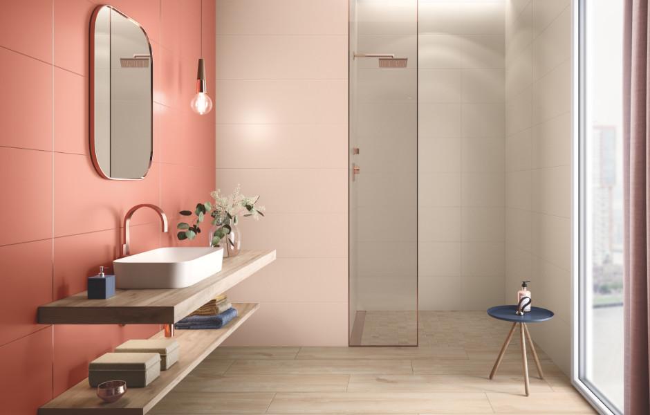 Lightplay von Villeroy & Boch: Die Kollektion vereint pudrige, zarte Farbtöne mit edlen, matten Oberflächen und sorgt damit für ein elegant-minimalistisches Ambiente.