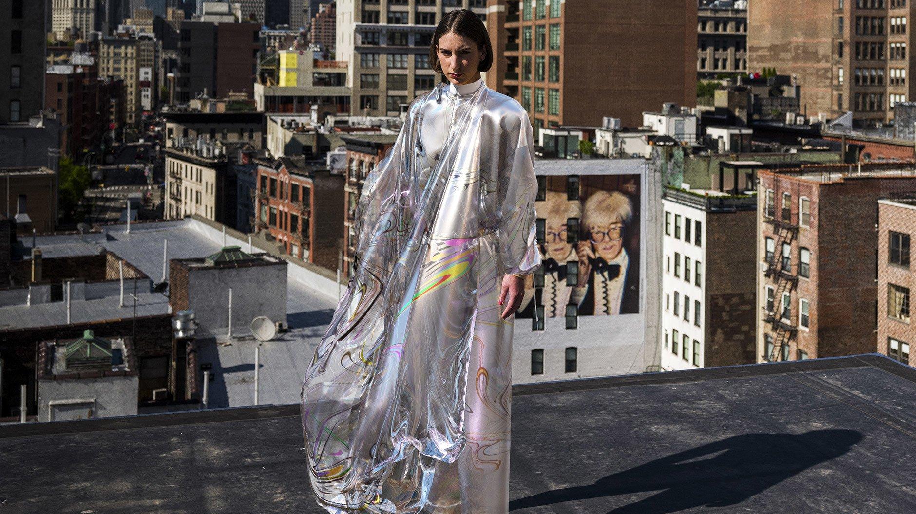 Iridescent Dress, Bild: © The Fabricant
