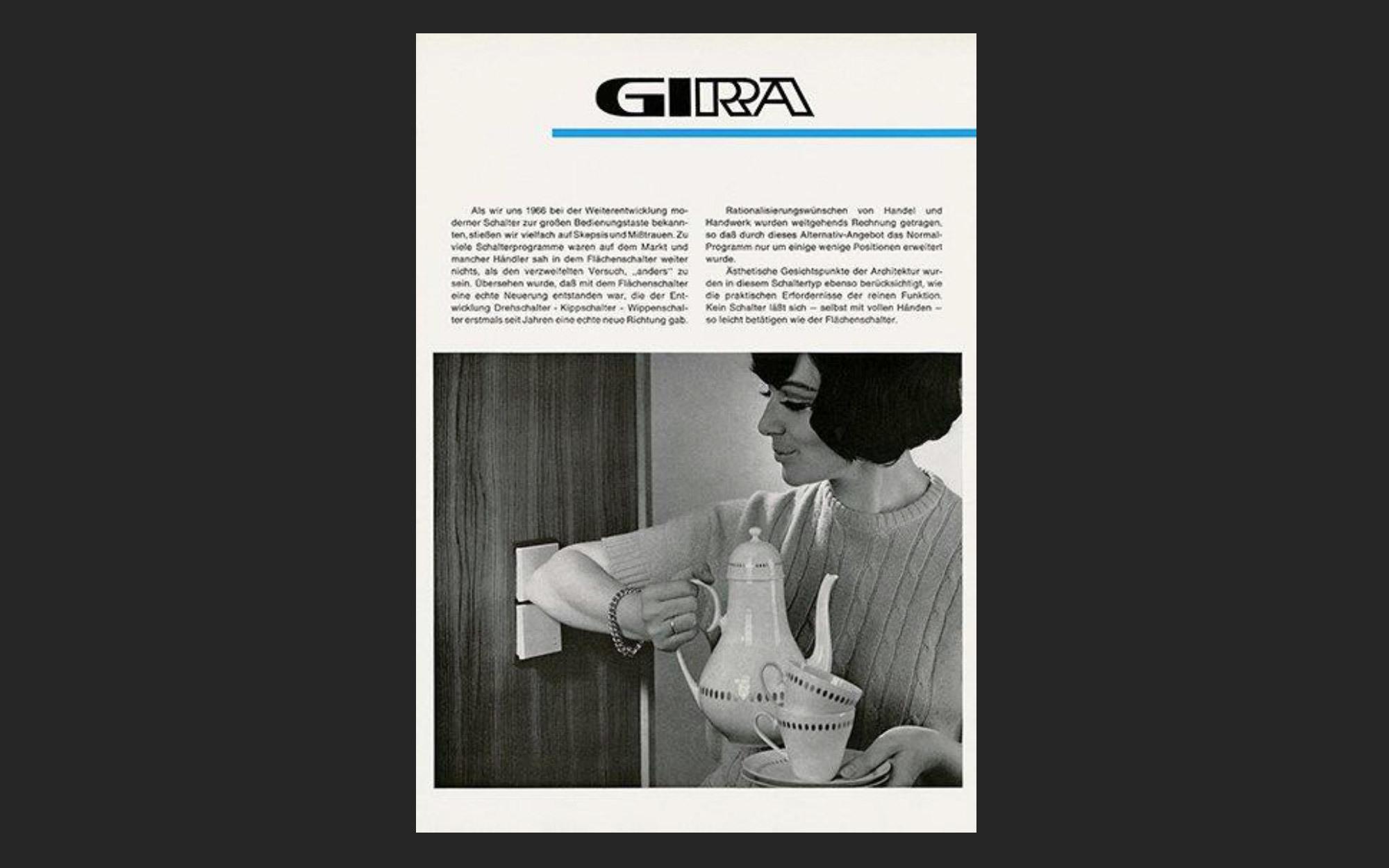 Gira Broschüre aus dem Jahr 1966
