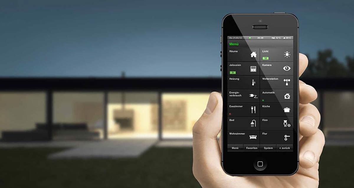 Heute klein und smart: Gira App für das Iphone.