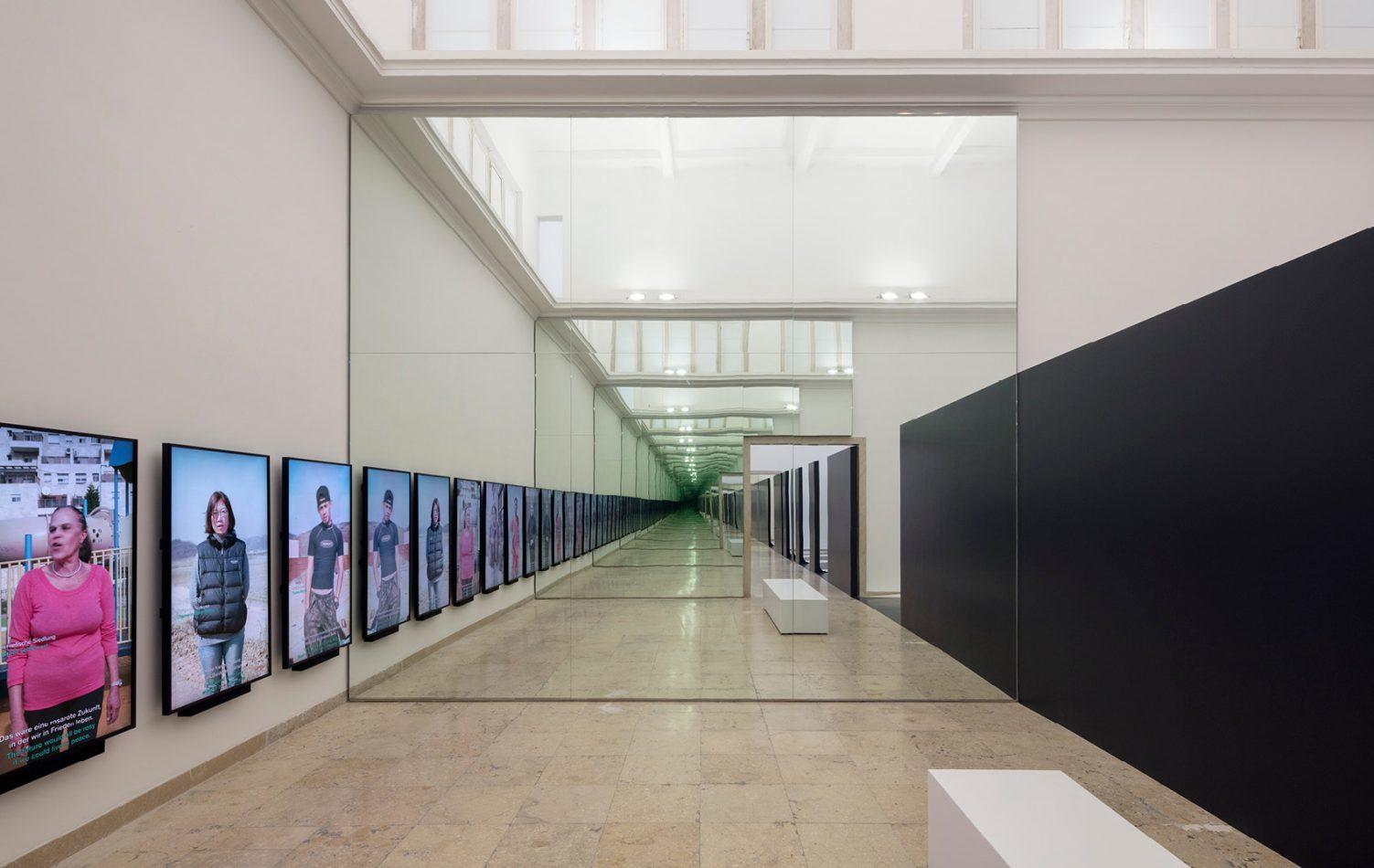 Biennale Venedig 2018: Unbuilding Walls von Graft Architekten und Marianna Birthler Foto: Jan Bitter