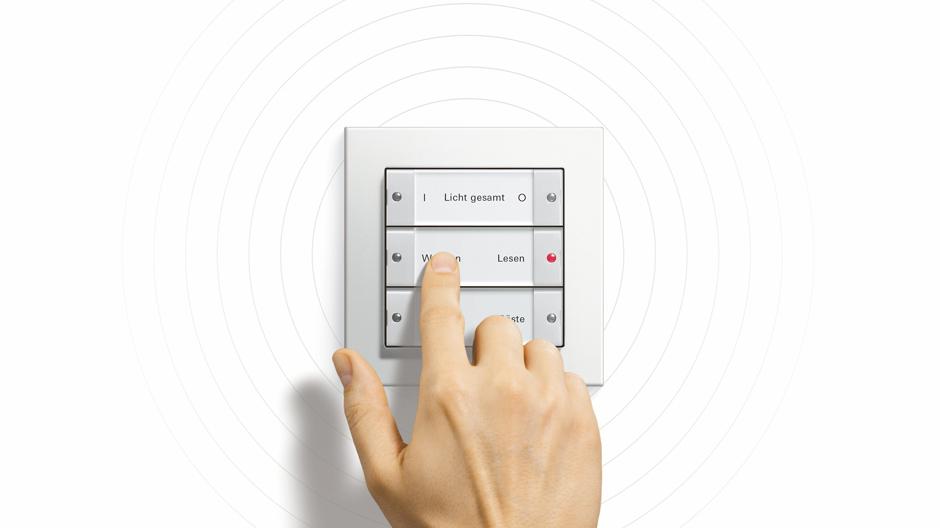 Mit dem KNX RF-System von Gira lässt sich jede KNX-Anlage problemlos erweitern.