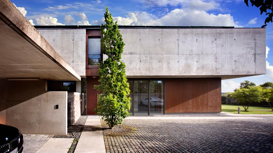 Das Wohnhaus des Fürther Architekturbüros Dürschinger...