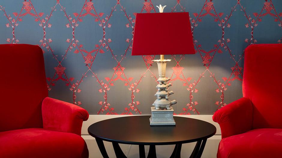 Designerin Kate Hume schöpfte bei der Inneneinrichtung aus einem Fundus edler Materialien. © Tortue Hamburg