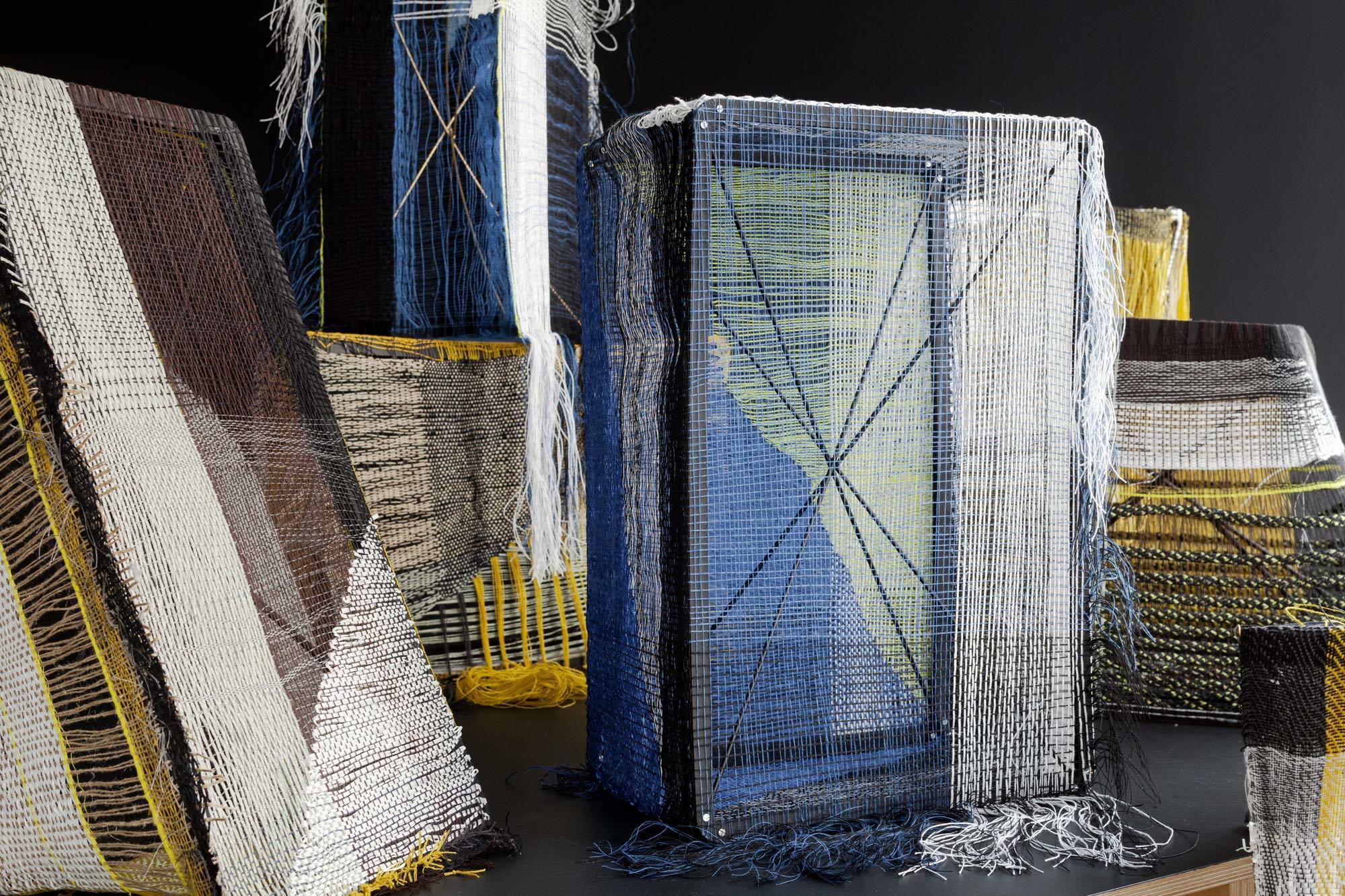 Hella Jongerius, Woven Bricks, 2019© Hella Jongerius / VG Bild-Kunst, Bonn Courtesy: Lafayette Anticipations, Foto: Roel van Tour