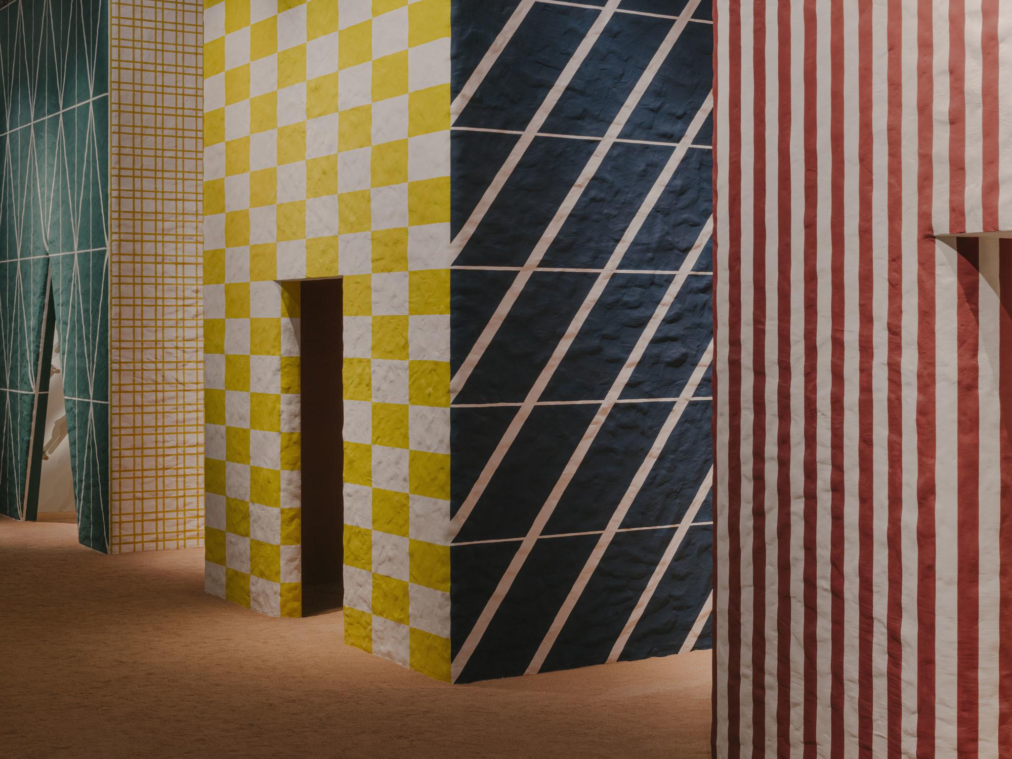 Präsentation von Hermès Maison in der Sporthalle La Pelota in der Via Palermo. Foto: Maxime Verret/Hermès Maison