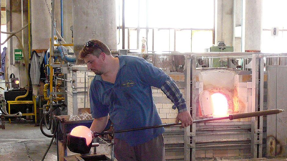 Glasherstellung in Tschechien
