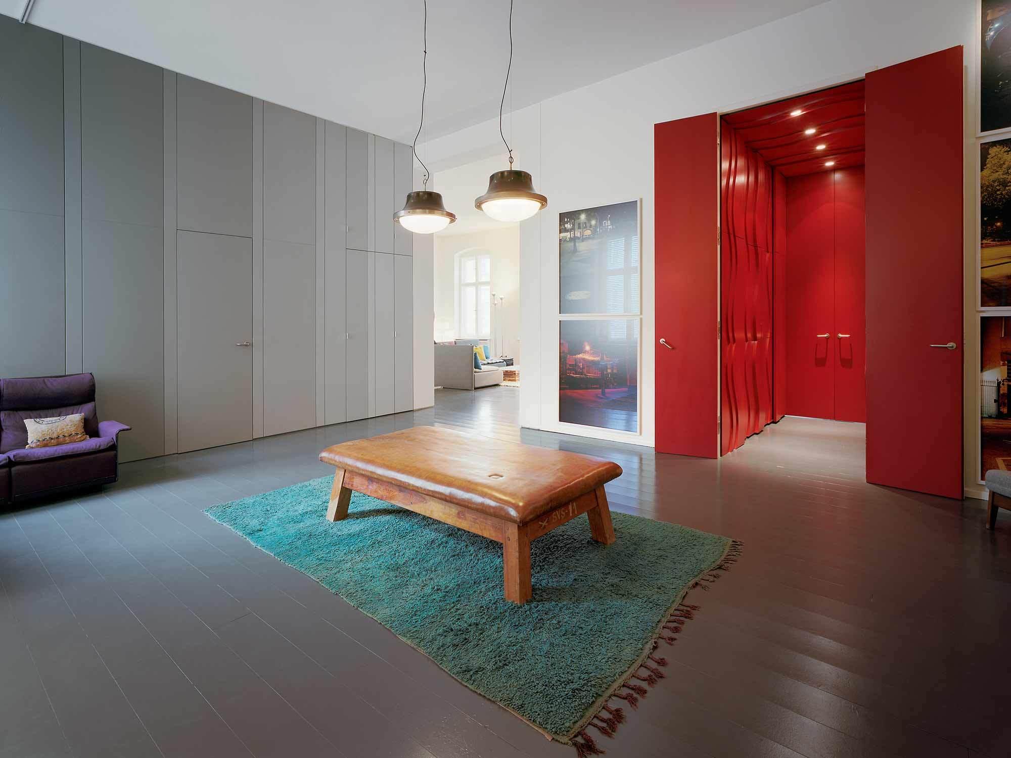 Hinterhaus-Wohnung, Berlin, Thomas Kröger Architekten, 2012, Foto: Thomas Heimann