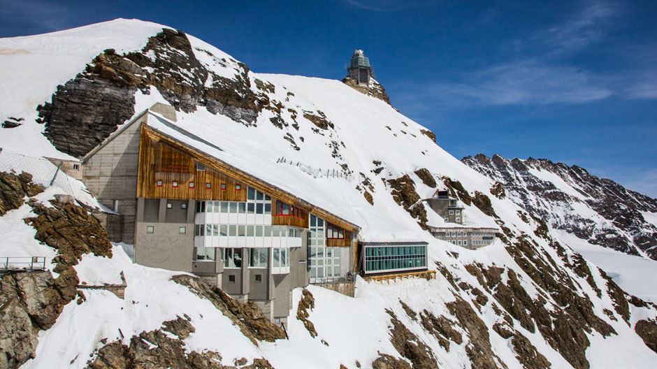 Top of Europe: Jungfraujoch in den Berner Alpen. Dieses Foto: martinkeller.ch, alle Anderen: Cedric Merkli.