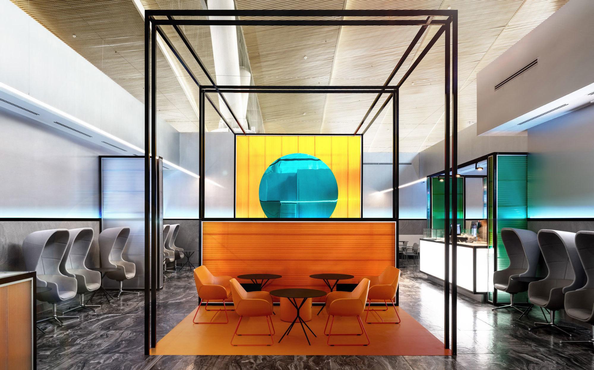 Klare Linien, transparente Materialien und Licht sind die dominierenden Elemente des Projektes The Horizon von VOX Architects..