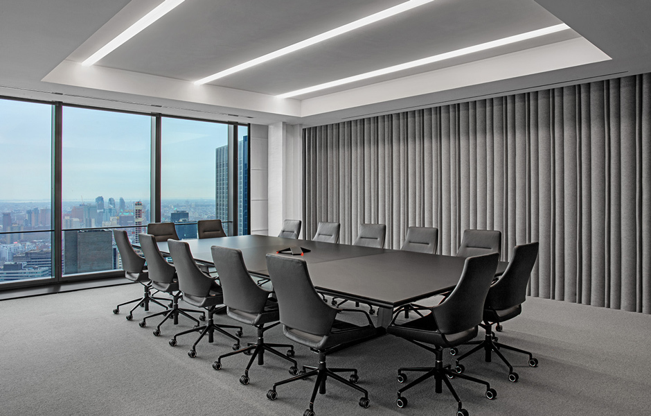 Der Konferenzstuhl Graph von Wilkhahn wählten TPG Architecture wegen seines Designs und seiner Funktionalität aus.