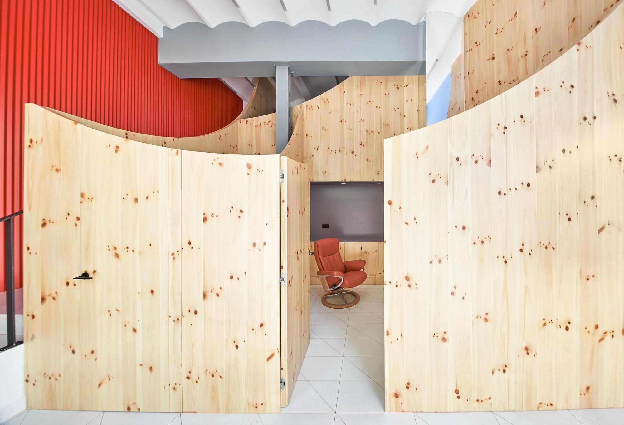 Impress Dental Clinic, Raul Sanchez Architects, Barcelona, Foto: José Hevia