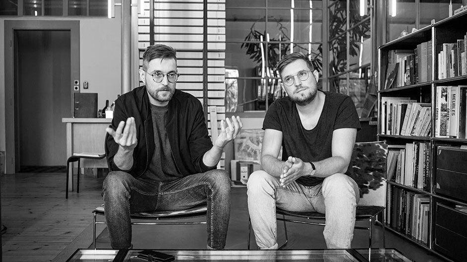Ismaël und Nathan Studer. Foto: André Bolliger