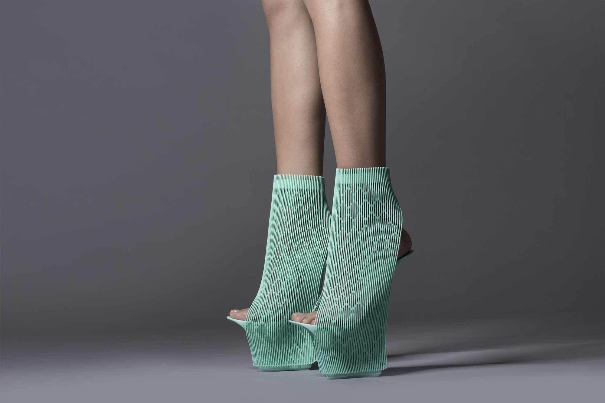 Schuhe Ilabo für United Nude, 2015