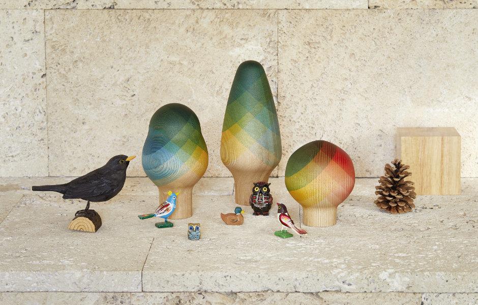 Herringbone Collection für Vitra Accessories Collection, Herringbone Trees