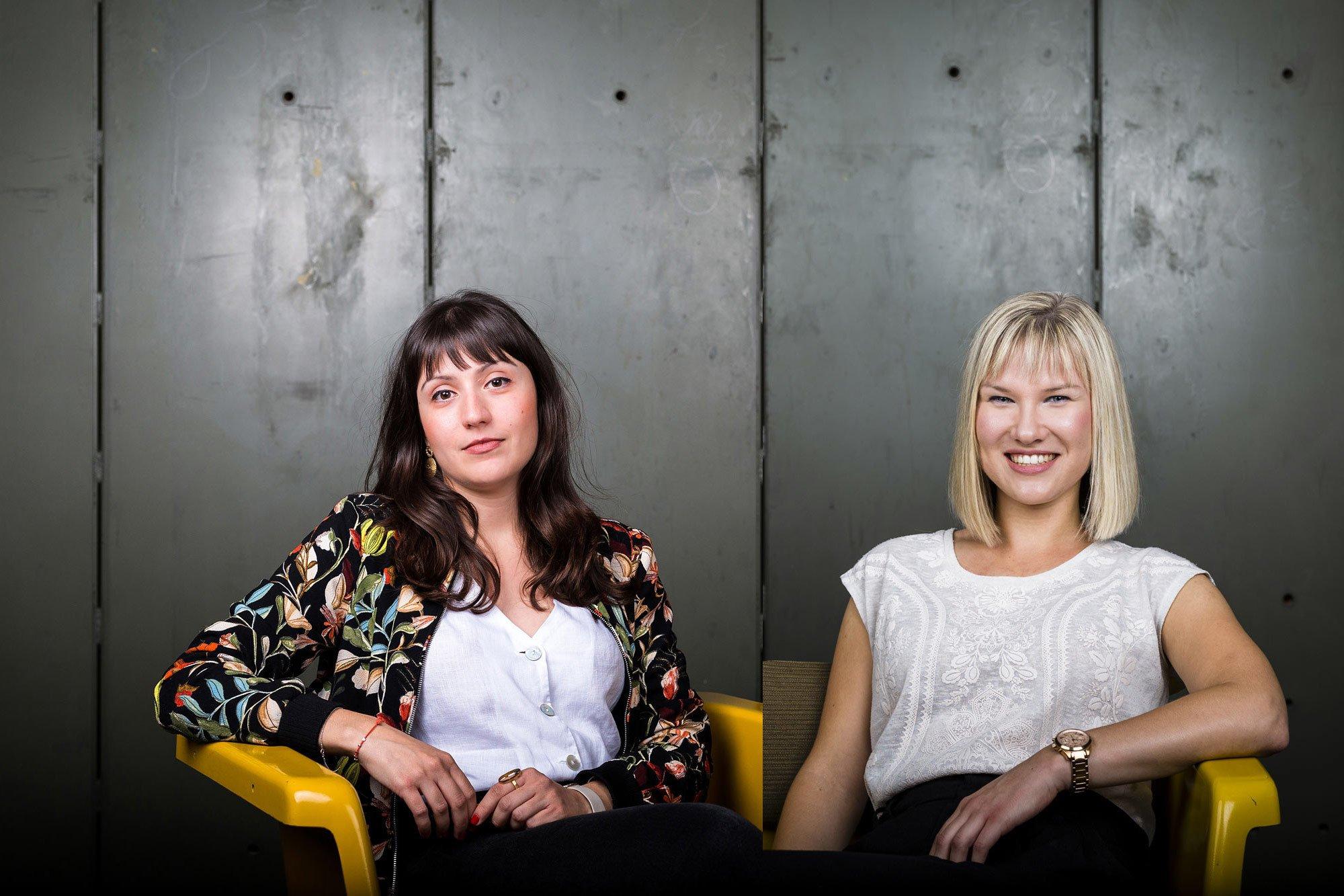 Ina Nikolova und Lena Janßen, Foto: Kinzo