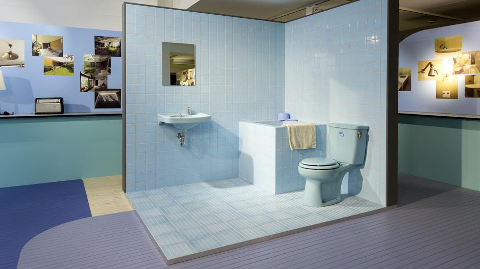 Das Badezimmer in Indonesien und Chile