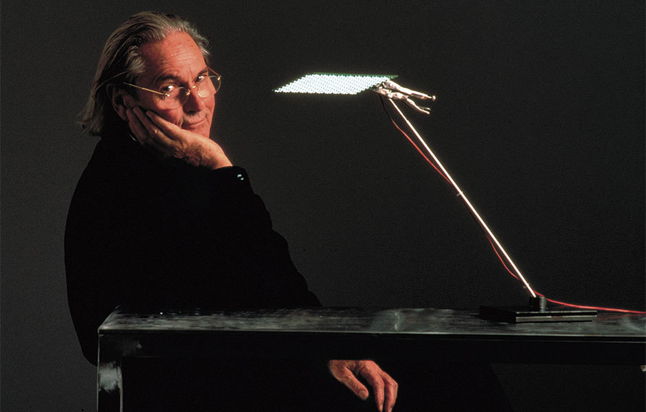 Ingo Maurer, 2001. Foto Tom Vack