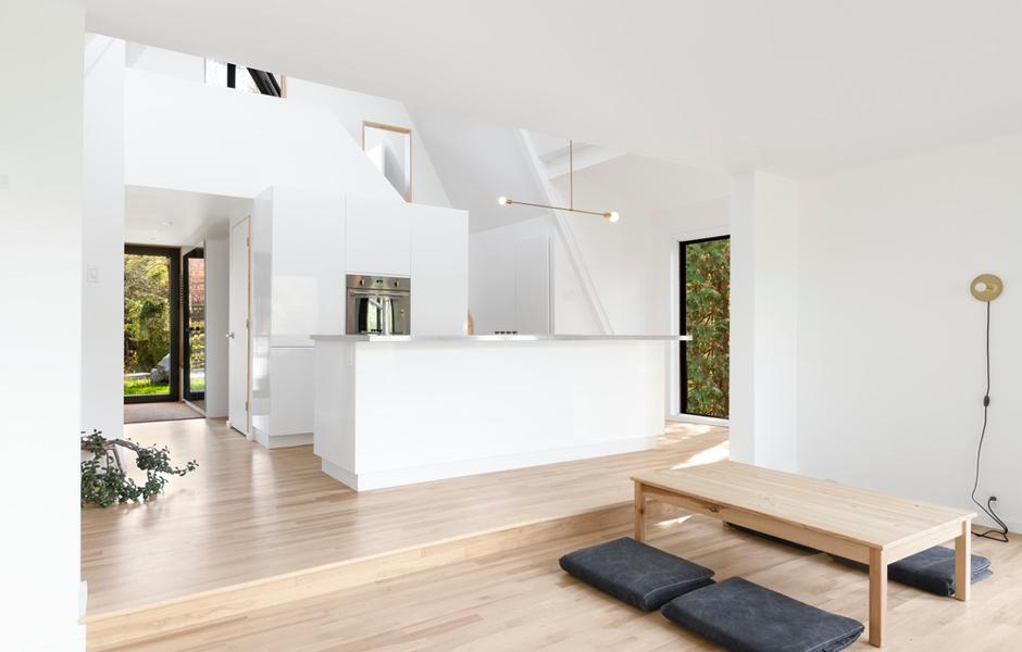 Wohnhaus St Adolfe d'Howard, Kanada, 2017, Foto: Maxime Brouillet