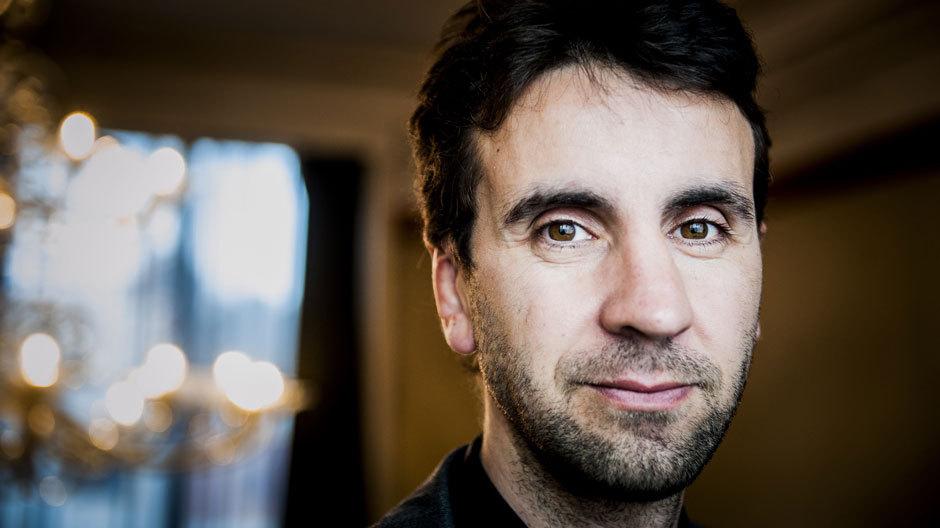 Joseph Grima, Gründer des Design- und Forschungsstudios Space Caviar und Kurator des Kulturprogramms der Biennale Interieur 2014 in Kortrijk.